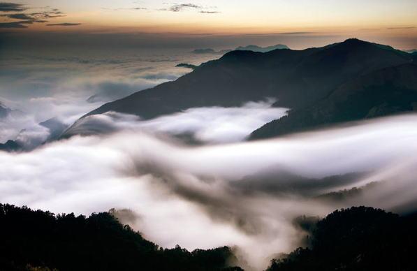 仙人が住む山