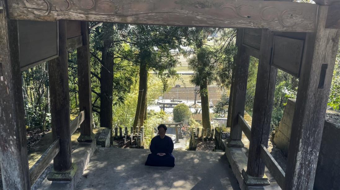 名無き仙人(冒頭文神社の写真)